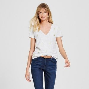 Merona Tops - New Women's Gray Vintage V-Neck T-Shirt  Lot of 9